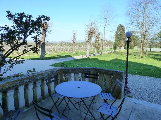 Chateau Lavergne-Dulong - Chambres d'hotes: vineyards everywhere