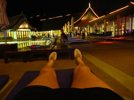 Club Med Phuket : Pool at night - You are free to swim in the evenings