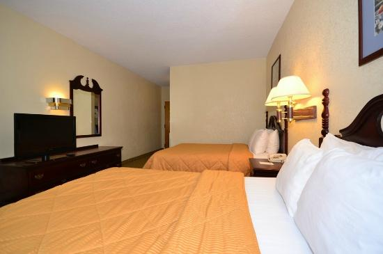 Comfort Inn Hammond: Double Bedroom