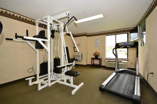 Comfort Inn Hammond: Fitness Center