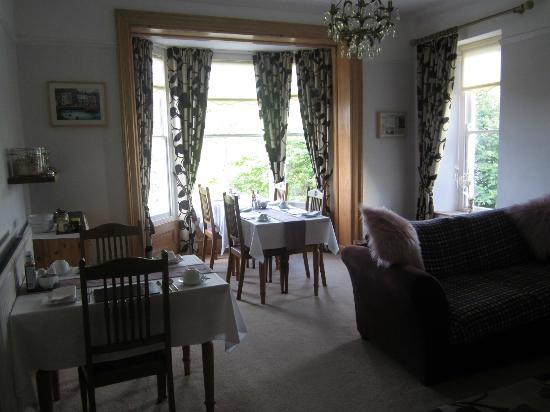 Llys Aeron Guest House: Llys Aeron Breakfast Room