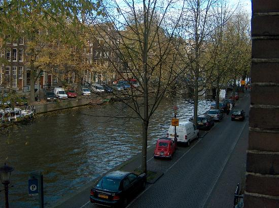 Amsterdam Canal View From The Hotel Balcony Picture Of