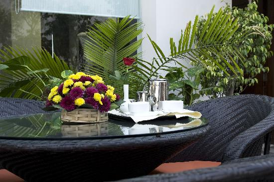 Hotel Vaishree Boutique: Terrace