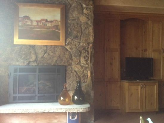 Manor Vail Lodge: Living area