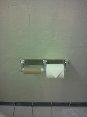 Travelodge Merced Yosemite: Rusted our TP holder