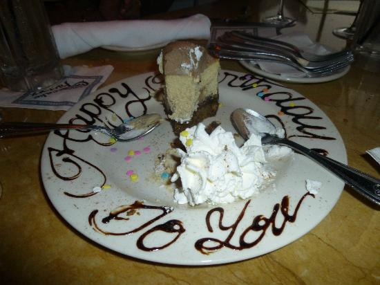 The Birthday Cheescake Picture of The Cheesecake Factory Allen