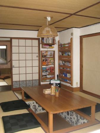 "Guest House ""Bon"": common room居間"