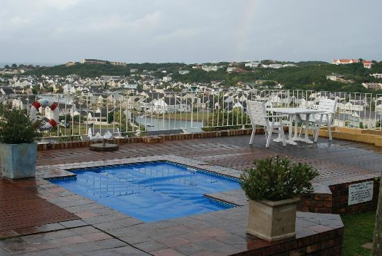 The Lookout Guest House: View over Port Alfred from the lounge.