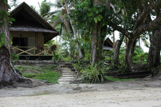 Aore Island Resort: My beachfront bungalow