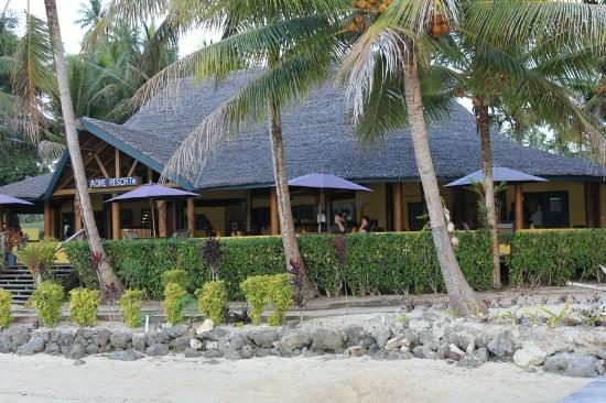 Aore Island Resort: Restaurant, Bar and lounge area