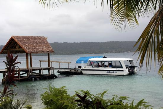 Aore Island Resort: The ferry that transports you to the island