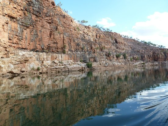 Kununurra, Australië: The Chamberlain River and Gorge