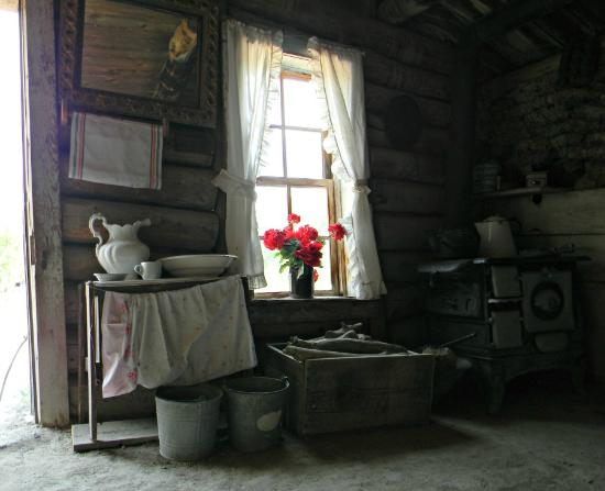 Prairie Homestead Historic Site: Kitchen