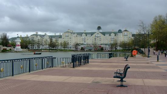 Disney S Newport Bay Hotel On Lake Disney Picture Of