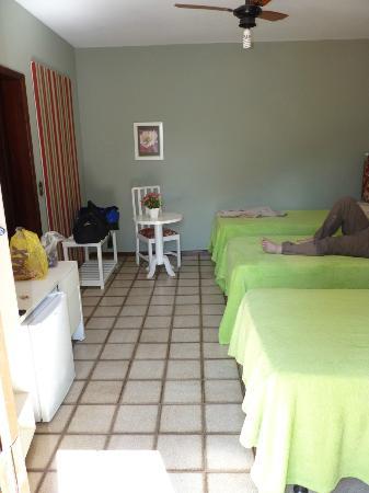 Pousada Bella Casa: Triple room