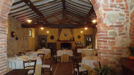 โรงแรมบอโก คาซาเบียนกา: Ristorante del borgo