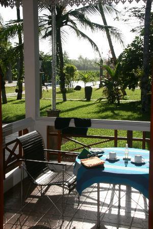 Amal Villa Apartments & Rooms: from the veranda