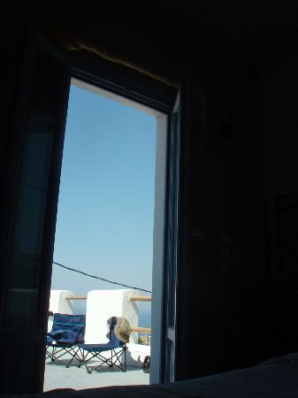 Villa Murano: Φωτο απ το δωματιο στο μπαλκονι