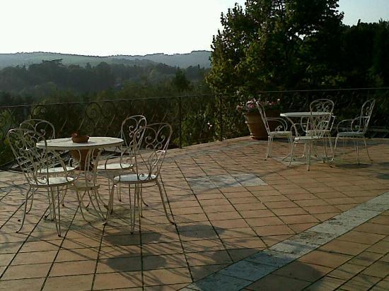 San Giustino Relais: terrazza