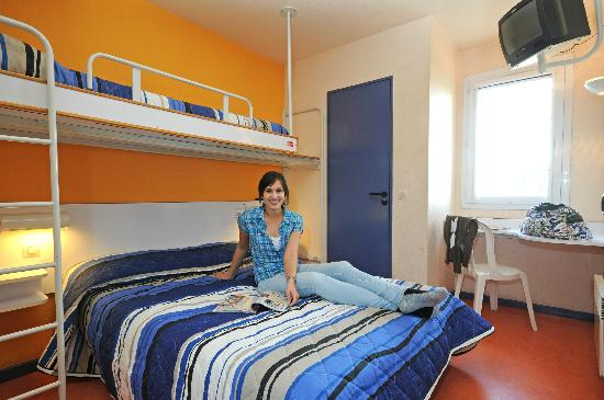 Hotel Mister Bed Metz: Family room