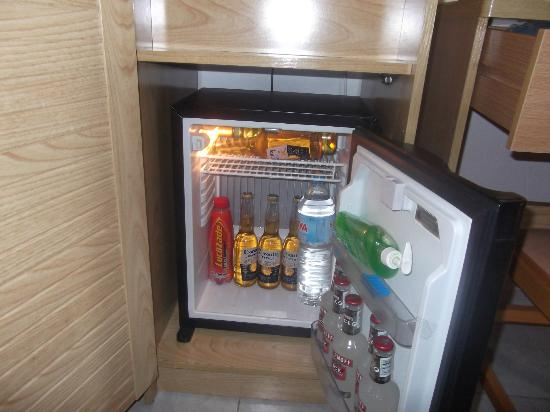 Servigroup Nereo: free fridge in room