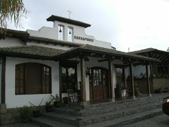 Hacienda Abraspungo: Reception