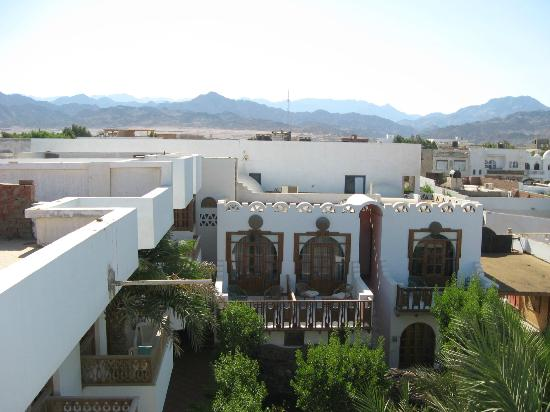 Star Of Dahab Hotel: View from the roof of the Hotel