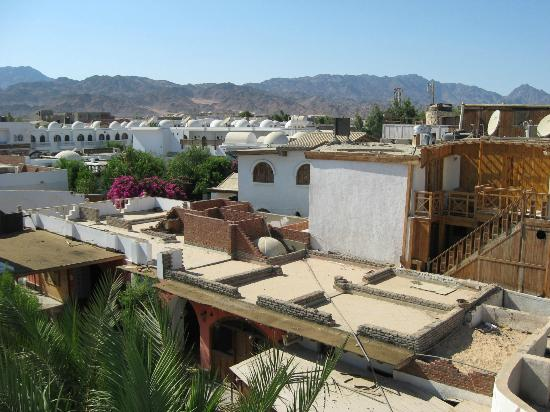 Star Of Dahab Hotel: VIew inland from the roof