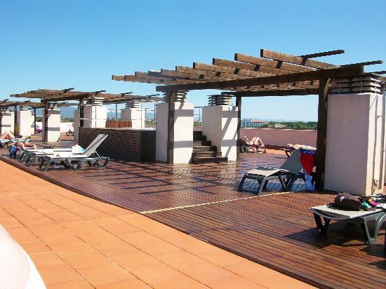 H10 Salauris Palace: roof top sun terrace
