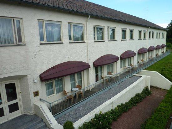 BEST WESTERN Hotel Slenaken: Front of the Hotel