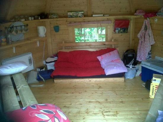 Gilsland Park: Gilsland Caravan Park camping cabin