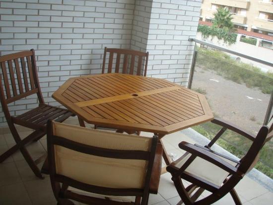 Apartamentos Vila d'Oropesa VII: Terraza