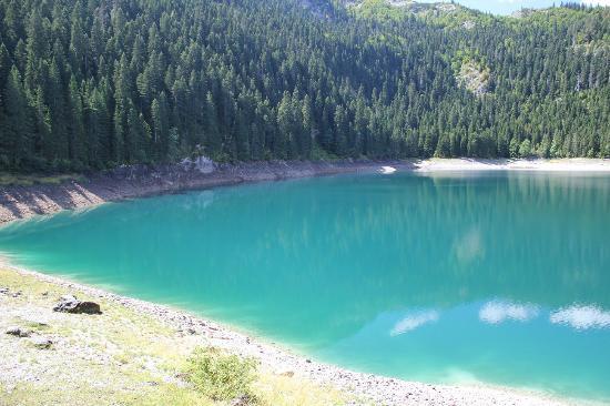 Crno Lake: второе (малое) Черное озеро