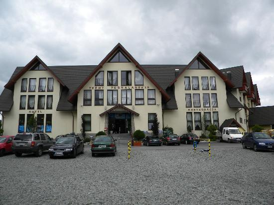 Szaflary, Poland: Entrance to the spa and apartments