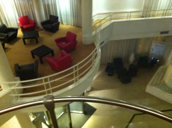 Hotel Ceuta Puerta de Africa: hall del hotel