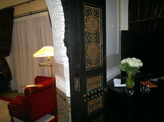 La Mamounia Marrakech: La porta tra la camera da letto ed il salotto