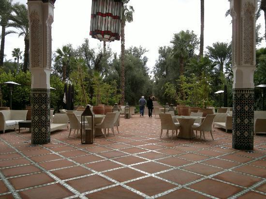 La Mamounia Marrakech: Il parco dell'hotel