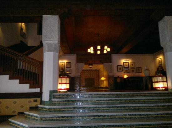 La Mamounia Marrakech: Sala interna