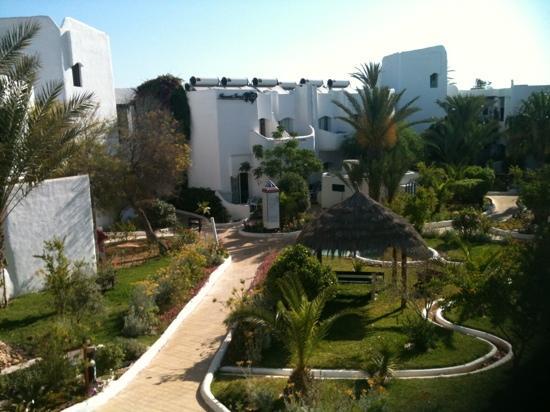 Fiesta Beach Club Djerba : vue de chambre
