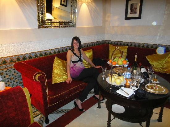 La Mamounia Marrakech: Il salotto della suite