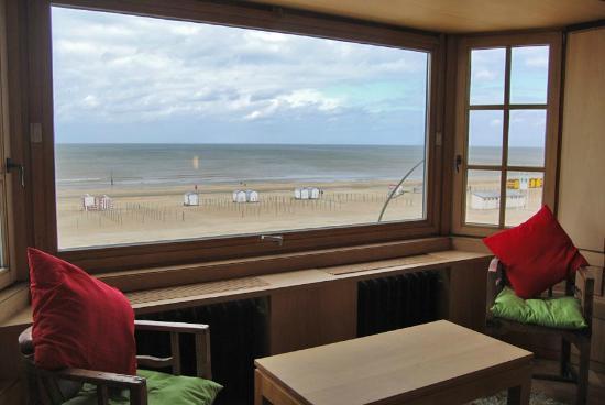 Hotel Escale : zicht vanuit luxe kamer