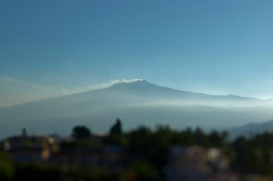 Hotel Sporting Baia: VIEW OF ETNA