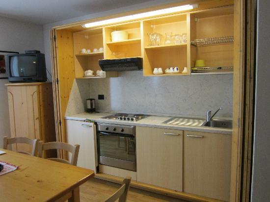 Residence La Locanda: Cucina