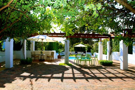 Marianne Wine Estate Guesthouse: Winery Swimming Pool