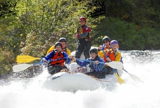 Orion River Rafting: white water rafting!