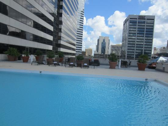 Omni Jacksonville Hotel : Pool facing away from the hotel