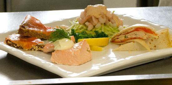 Diamond Coast Hotel: Seafood Platter