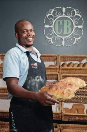 Cobblestone Bistro & Bakery: Fresh bread baked daily