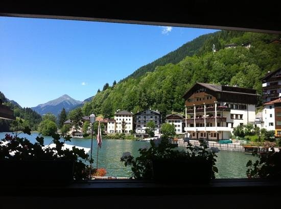 Sporthotel Europa sul Lago: panoramic view from the restaurant