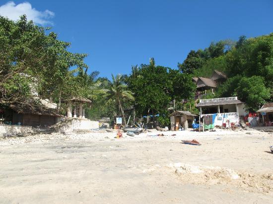 Lembongan Cliff Villas: Local beach near villas